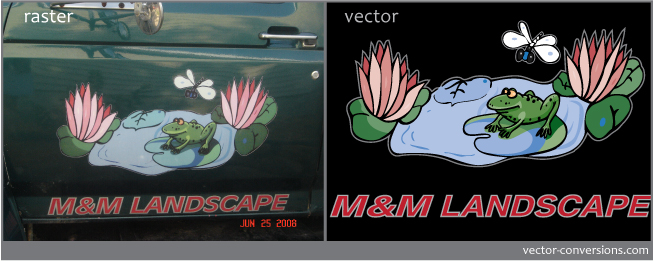 vectorizing from a photograph